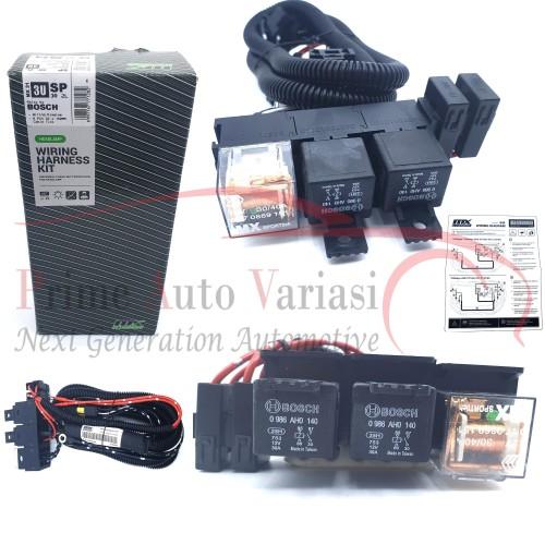 Foto Produk Kabel Relay set lampu Head lamp H4 Bosch 3 Relay - MX31 dari Prime Auto Variasi