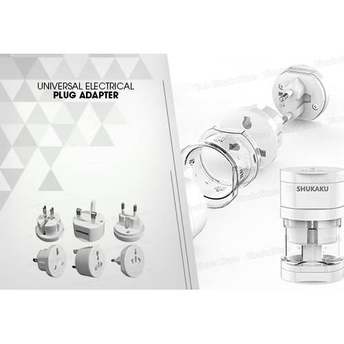 Foto Produk Adaptor International Universal Travel Plug dari Natz