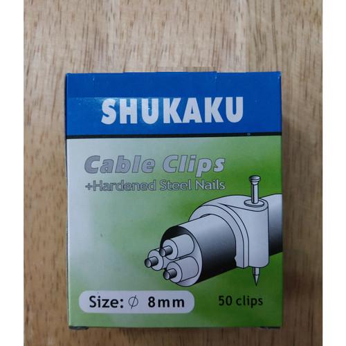 Foto Produk klem kabel no 9 paku beton TEBAL KUAT BAGUS dari Natz