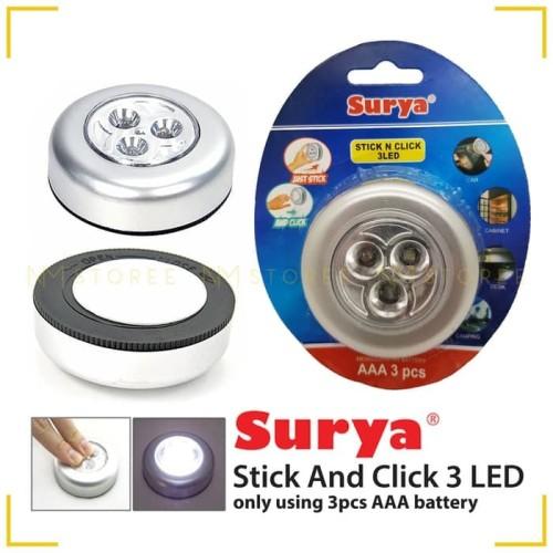 Foto Produk Lampu Lemari Stick N Klick Surya stick n click dari majultc
