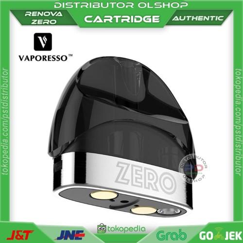 Foto Produk CARTRIDGE RENOVA ZERO POD STARTER KIT AUTHENTIC - Vape Vapor - STANDARD dari Distributor Olshop