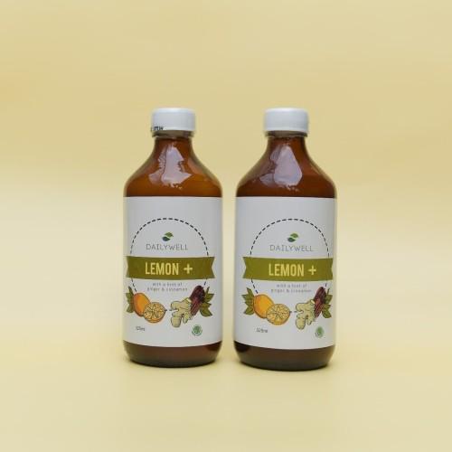 Foto Produk [Healthy Diet Package] - 2 botol Dailywell Lemon+ dari DAILYWELL
