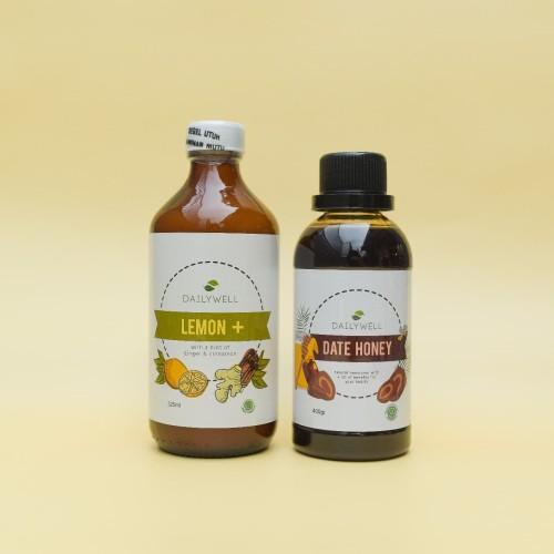 Foto Produk [Healthy Detox Package] Dailywell Lemon+ & Dailywell Date Honey dari DAILYWELL