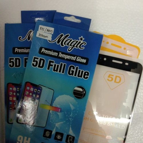 Foto Produk SCREEN PROTECTOR 5D FULL FOR OPPO F1S A59 TEMPERED GLASS FULL SCREEN dari king acc&sparepart hp