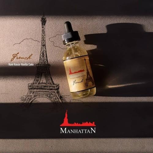Foto Produk Manhattan French 0/3/6/9/12/18/24MG DTL / MTL Vanilla Rum Raisin Cake - 3MG dari JakartaVapers