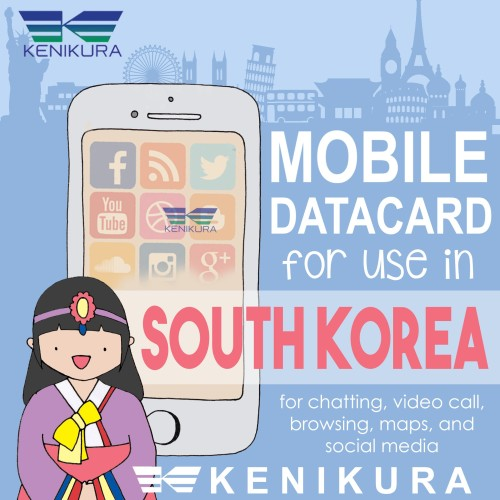 Foto Produk 40 Days data Korea Simcard South Korea sim card Korsel dari Kenikura Tour