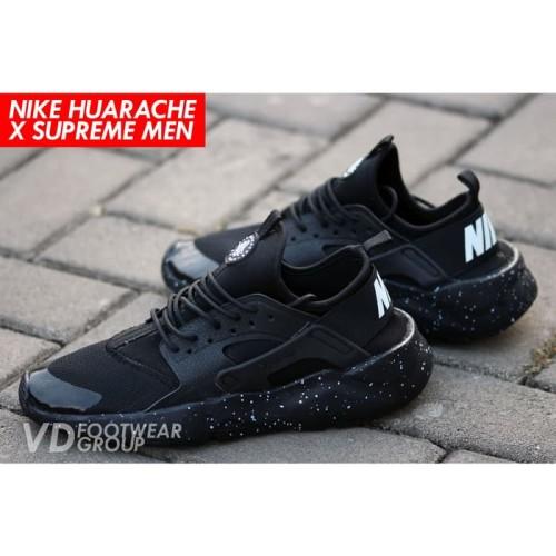 Nike Huarache Supreme Sepatu Sneakers Pria Keren Sporty Hot Sale