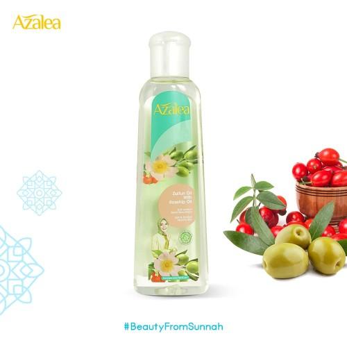 Foto Produk Azalea Zaitun Oil with Rosehip Oil 150 ml dari AZALEA OFFICIAL STORE