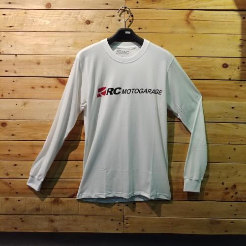 Foto Produk T Shirt RC White Long Sleeve 2019 dari RC Motogarage Bandung