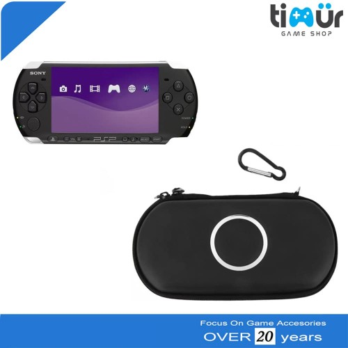 Foto Produk Tas Airfoam Pouch Pocket Dompet Case Bag PSP Slim Dan Fat Warna Hitam dari Timur Game Shop