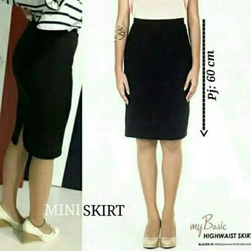Foto Produk New Skinny Skirt Rok Pendek Wanita Premium Mini Midi Murah Polos dari yongsun store