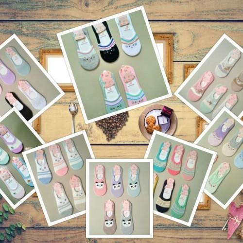 Foto Produk Kaos kaki Perempuan Woman Socks Foot Cover Alas Kaki dari K2 Online Shop