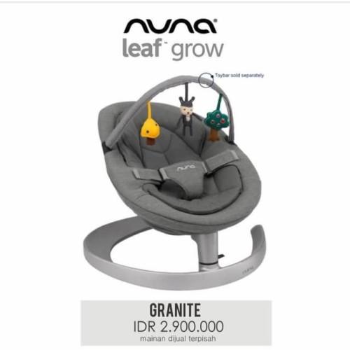 Foto Produk Nuna Leaf Grow Granite Nuna Bouncer Mainan Bayi dan Anak dari Papamama Babyshop