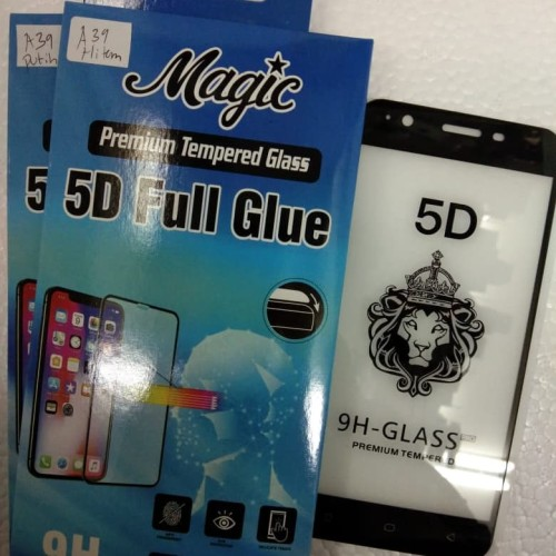 Foto Produk SCREEN PROTECTOR 5D FULL FOR OPPO A39 TEMPERED GLASS FULL SCREEN 5D dari king acc&sparepart hp