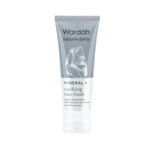 Foto Produk Wardah Nature Daily Mineral+ Clarifying Clay Mask 60 ml dari Wardah Official