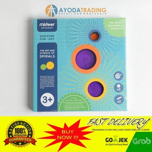 Foto Produk Mideer The Art and Science of Spirals Children Drawing Toys Kado dari Ayoda Trading