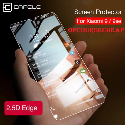 Foto Produk CAFELE XIAOMI MI 9 MI9 TEMPERED GLASS CLEAR HD dari Of Course Cheap
