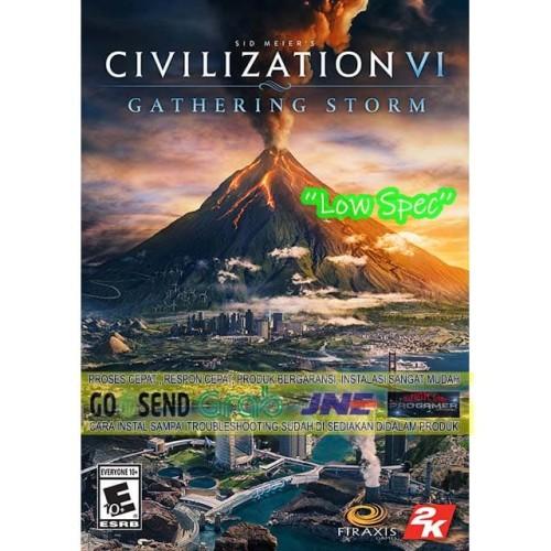 Foto Produk CIVILIZATION VI GATHERING STORM CD DVD GAME PC GAMING PC GAME dari WEPRO-SHOP