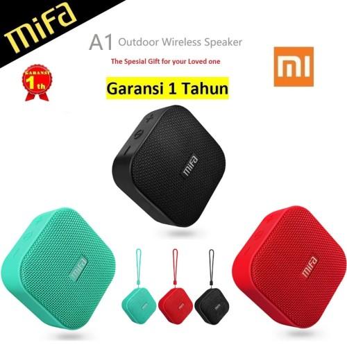 Foto Produk Speaker Xiaomi MiFa A1 Portable Bluetooth with Micro SD Slot ORIGINAL - Hitam dari MiFa Official Store