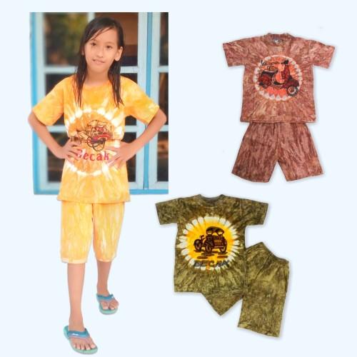Foto Produk Setelan Baju Anak Kaos Bergambar - 1 tahun dari IDR 19