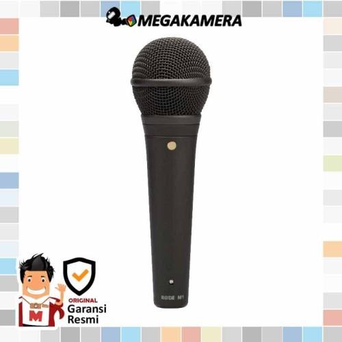 Foto Produk Rode M1 Handheld Audio Cardioid Dynamic Microphone dari Megakamera