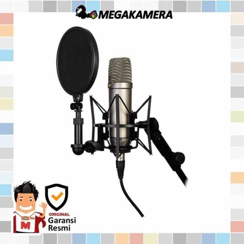 Foto Produk Rode NT1-A Large Diaphragm Condenser Microphone dari Megakamera