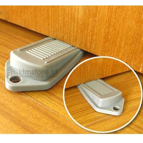 Foto Produk Karet penahan karet pengganjal ganjal pintu Door Stopper Kodaki BB-10 - Putih dari Tchome Official Store