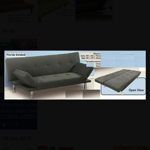 Foto Produk Sofa Bed Florida 2 in 1 dari metha colektion