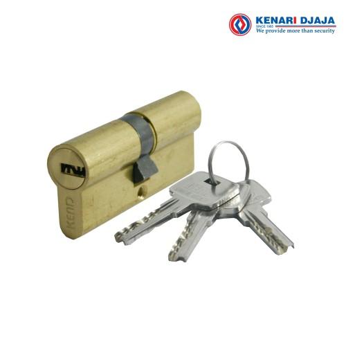Foto Produk Kunci Pintu Euro Plus Double Cylinder KEND KE610-10 BRS dari Kenari Djaja