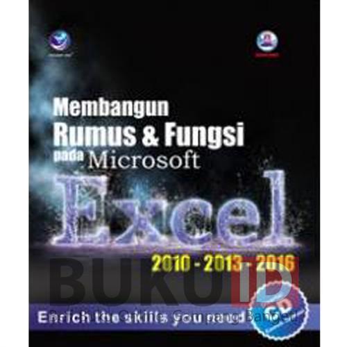 Foto Produk Buku Membangun Rumus Dan Fungsi pada Microsoft Excel 2010-2013-2016 CD dari Buku ID