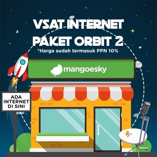 Foto Produk Paket Vsat IP Mango for Cafe atau Warnet ORBIT 2 dari Telkomsat