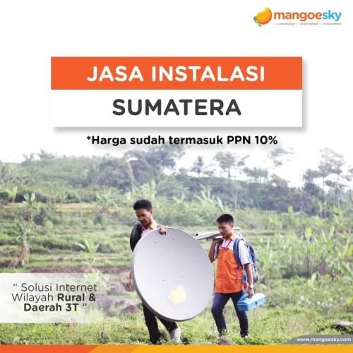 Foto Produk Instalasi Sumatera dari Telkomsat