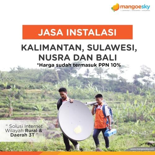 Foto Produk Instalasi Kalimantan Sulawesi Nusra dan Bali dari Telkomsat