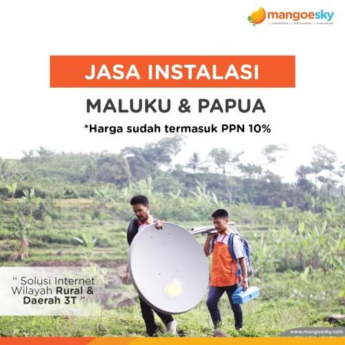 Foto Produk Instalasi Maluku dan Papua dari Telkomsat