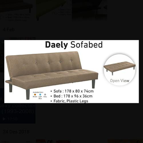 Foto Produk Sofa bed Daely 2 in 1 dari metha colektion