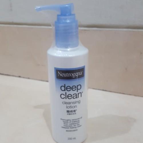 Foto Produk neutrogena deep cleansing lotion dari Macii and Miomio