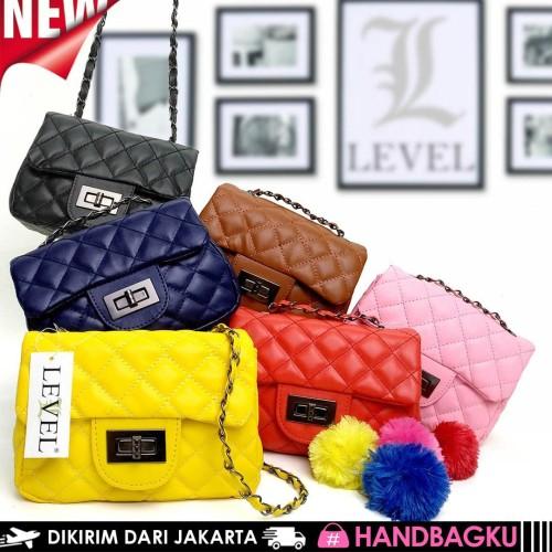 Foto Produk TAS CHANEL MINI FLAP SLINGBAG FASHION WANITA BATAM IMPORT SELEMPANG dari handbagku