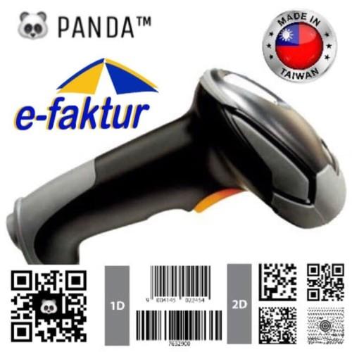 Foto Produk BARCODE SCANNER E-FAKTUR 2D dan 1D PANDA - scanner QR CODE dari solusiprogramcom