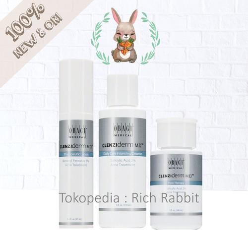 Foto Produk Obagi Clenziderm M.D. MD System - Foaming Cleanser Lotion Pore Therapy - FoamingCleanser dari Rich Rabbit