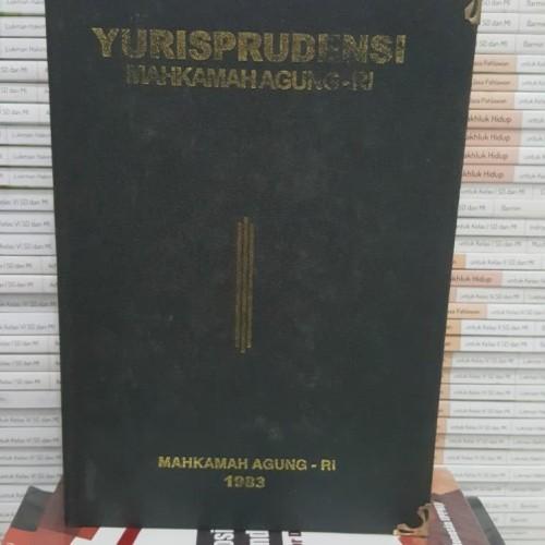 Foto Produk Yurisprudensi Mahkamah Agung - RI 1989 dari iinbuku