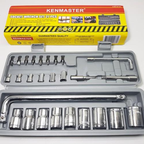 Foto Produk Kunci Shock / sok set 27 Pcs Merek Kenmaster Original dari Warunglistrik