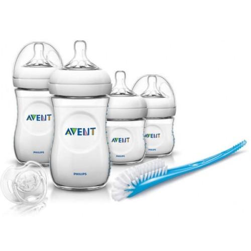 Foto Produk Philips Avent Newborn Bottle Starter Set Natural - Skin Soft Teat dari babyzania-id