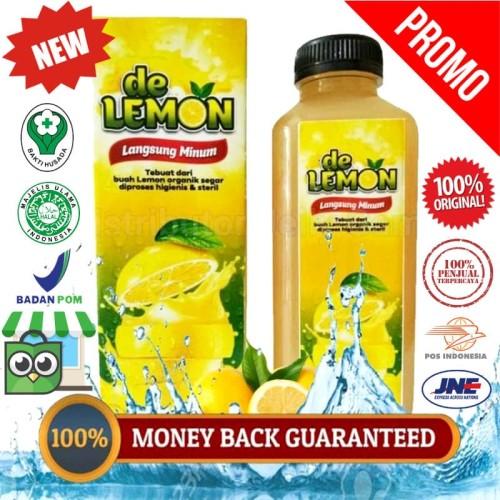 Foto Produk Tips Diet Sehat Alami - DE LEMON Langsung Minum - 100% ASLI ORIGINAL dari QnC Walatra