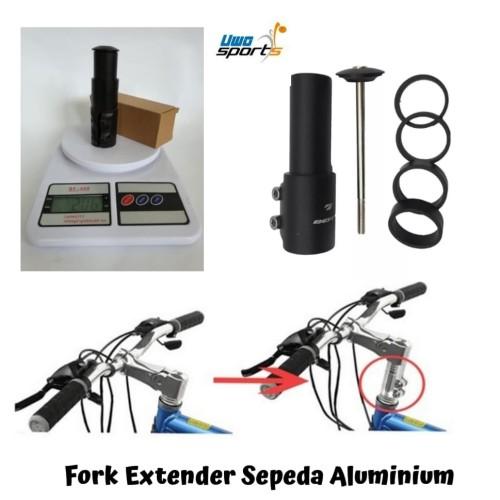 Foto Produk Fork Extender Sepeda Aluminium dari Uwo Sports