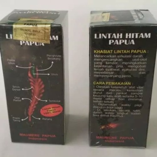 Foto Produk Minyak -lin-tah -PAPUA asli dari Obat Herbal Bogor