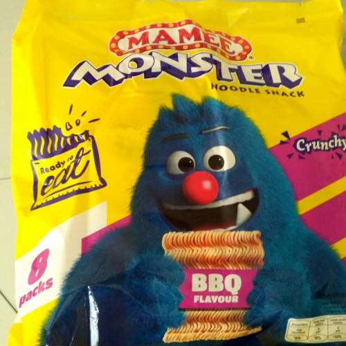 Foto Produk Mamee monster / mie monster / mie kremes rasa barbeque dari K & K Mart
