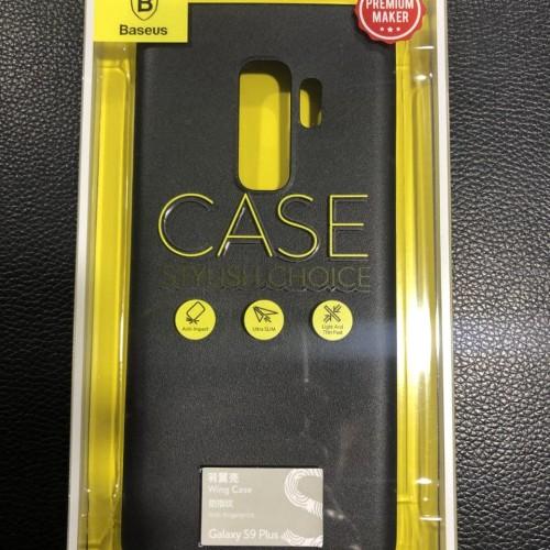 Foto Produk CASING SAMSUNG GALAXY S9 PLUS BASEUS WING CASE BLACK ANTI FINGERPRINT dari BANDAR AKSESORIS