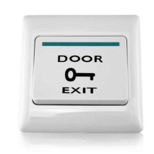Foto Produk Exit Button Putih Besar Tombol Push utk Access Door Push Button dari World IT Corner