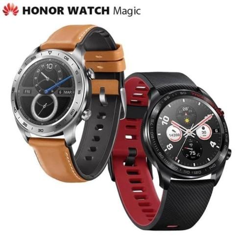 Foto Produk Huawei Honor Watch Magic Smartwatch 1.2 Inch Amoled 5atm WaterproofGPS - Hitam dari PIK88Elektronik