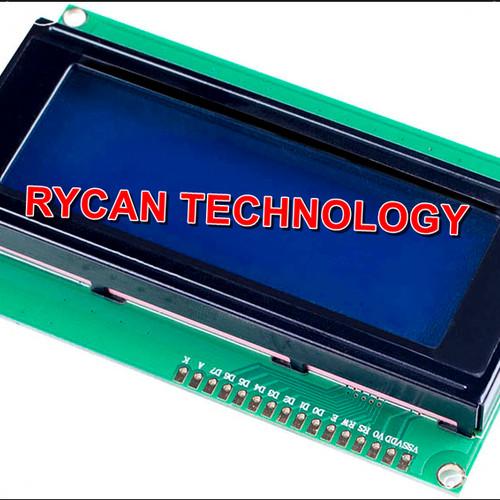 Foto Produk Hot Sale 20 x 4 LCD Module 2004 Character Display Screen blue dari Rycan Technology
